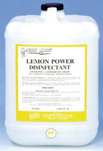 lemon disinfectant 25lt