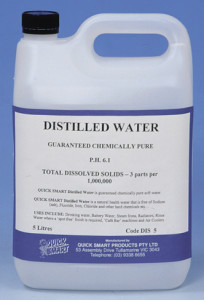 distilled water 5lt
